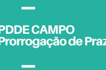PDDE Escola do Campo: atenção à prorrogação de prazos